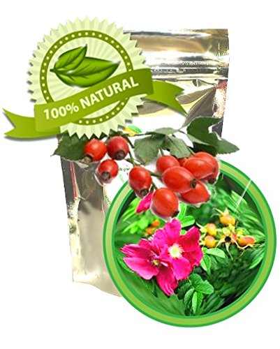 Rose Trinity Tm Rose Hips, Buds & Petals Herbal Tea Organic, Full Leaf, Loose- 4 Ounces Makes 16 Cups- By High Altitude Organics