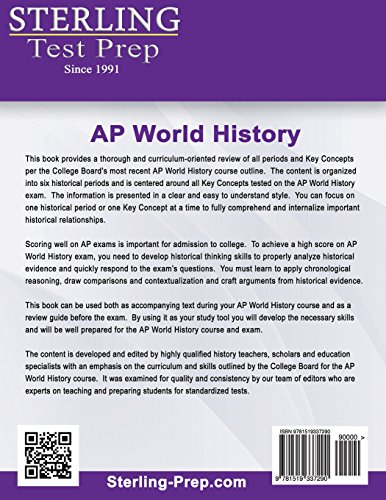 Sterling Test Prep AP World History: Complete Content Review