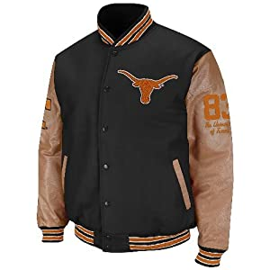 Texas Longhorns NCAA Varsity 2013 Letterman Jacket by Colosseum