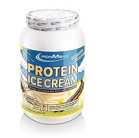 Ironmaxx Protein Ice Cream 1000g Dose Vanille