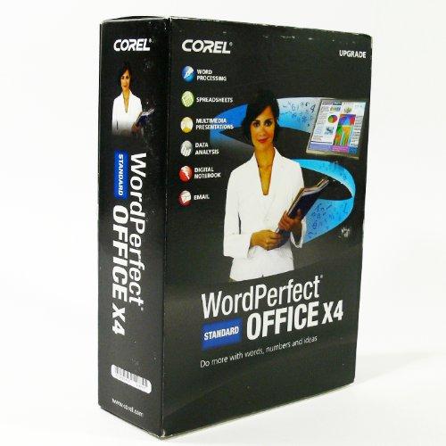 WordPerfect Office X4 Standard Upgrade (Bilingual)