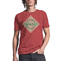 Tabasco Logo Mens Red Heather T-shirt