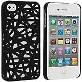 Black Birds Nest Snap-On Hard Back Cover Case für Apple iPhone 4 4G 4S