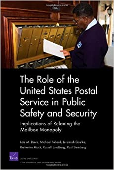 a discussion on the monopoly of the postal service Start studying ch 13: monopoly learn vocabulary, terms, and more with flashcards,  the us postal service has an exclusive right to deliver first-class mail.