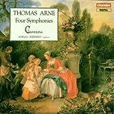 Thomas Arne: Four Symphonies