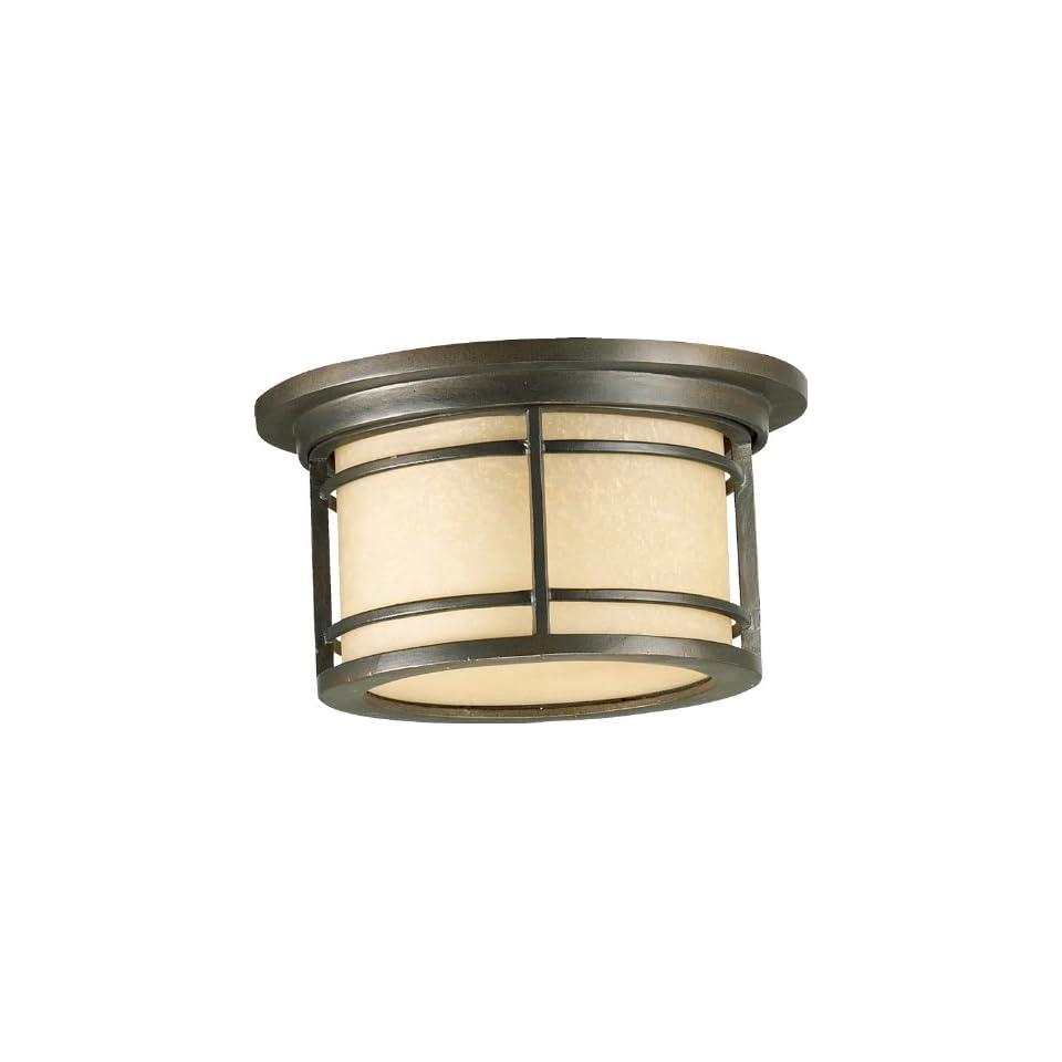 Light Oiled Bronze Outdoor Ceiling Light 3916 11 86