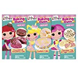 Lalaloopsy Baking Oven Refill Mix Confetti Cake And Chocolate Chip And Sugar Cookies And Chocolate And Strawberry...