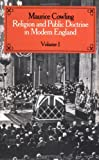 Religion and Public Doctrine in Modern England: Volume 1 (Cambridge Studies in the History and Theory of Politics) (0521545161) by Maurice Cowling