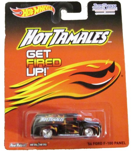 Hot Wheels - Real Riders - Hot Tamales - '56 Ford F-100 Panel - 1