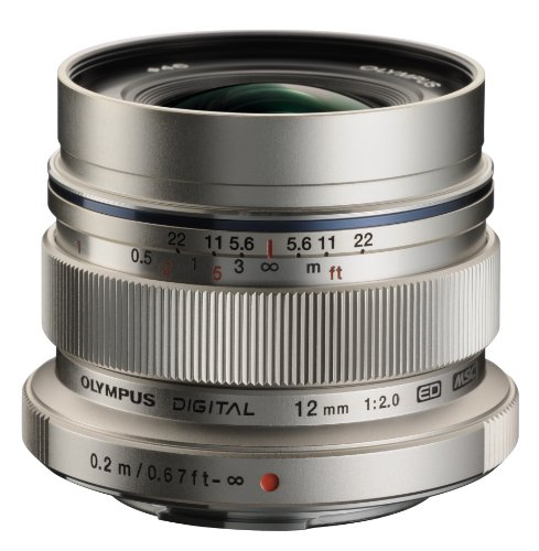 Olympus M. Zuiko Digital ED 12mm f/2.0 Lens for