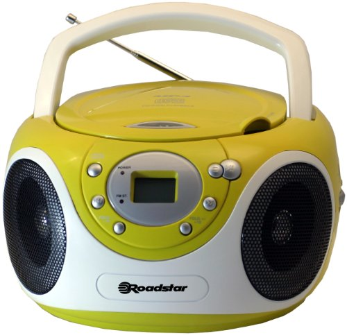 Roadstar CDR-4230MP/YE Radiorekorder ( CD-Player,MP3 Wiedergabe )