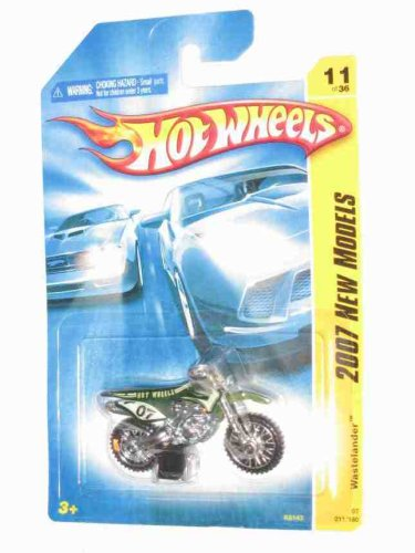 2007 New Models -#11 Wastelander Green Collectibles Collector Car #2007-11 2007 Hot Wheels - 1