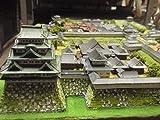 日本100名城 名古屋城本丸・二の丸 お城 模型 ジオラマ完成品 600mmサイズ (600)