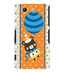 Fuson 3D Printed Cartoon Designer back case cover for Sony Xperia Z4 Mini - D4421