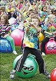 WALIKI TOYS Jumping Hopper Hopping Hippity Hop Ball: Ages 7-9 (Green)