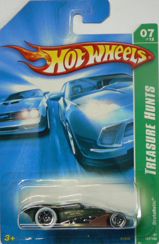 Hot Wheels Brutalistic Treasure Hunt - 1