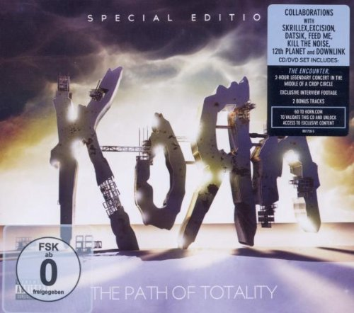 The Path Of Totality (Special Edition)(CD/DVD) by Korn album cover