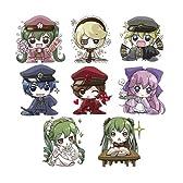 初音ミク 小説 千本桜 トレーディングラバーストラップ コンプリートBOX BOX商品 1BOX=8個入り、全8種類