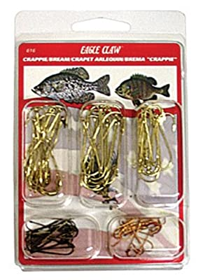 Eagle Claw Crappie Hook Kit 80 Piece