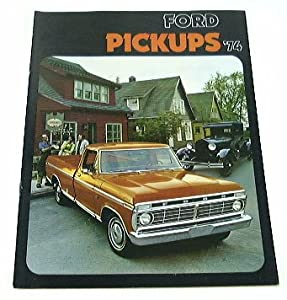 FORD PICKUP TRUCK BROCHURE F100 F250 F350 : Vehicles : Everything Else