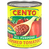 Cento Crushed Tomatoes, 28-Ounce Cans (Pack of 12)