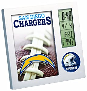 NFL San Diego Chargers Desk Clock by WinCraft