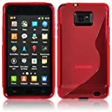 "Iprotect ORIGINAL SAMSUNG GALAXY S2 I9100 TPU CASE S-LINE HIGHCLASS ROT / REDvon ""iprotect"""