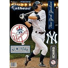Fathead New York Yankees Ichiro 2013 Fathead Teammate Case Pack 6 by Fathead