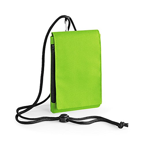 Bagbase - Custodia per Cellulare XL (Taglia unica) (Verde lime)