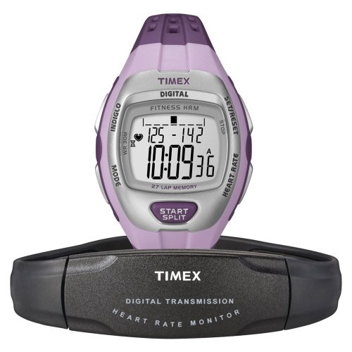 Cheap Timex Zone Trainer Digital Heart Rate Monitor Purple (B0097PI42A)