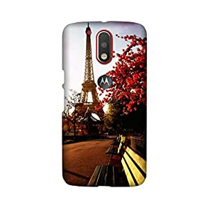 StyleO High Quality Designer Printed Back Cover Matte finsih with Logo Cut for Moto G4 / Moto G4 Plus