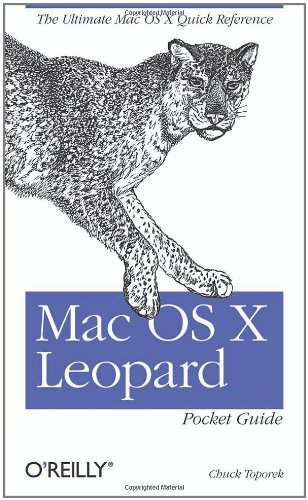 Mac OS X Leopard Pocket Guide (Pocket Reference)
