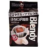 AGF ブレンディ レギュラーコーヒー ドリップパック ほろにが焙煎ブレンド 10Px6個