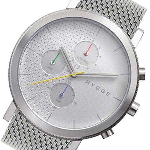 ピーオーエス POS ヒュッゲ 2204 Mesh クオーツ メンズ 腕時計 MSM2204C