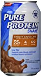 Pure Protein Ready to Drink Shake 35 Grams Protein, Frosty Chocolate (Pack of 12)