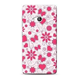 Mobile Back Cover For Microsoft Lumia 535 (Printed Designer Case)