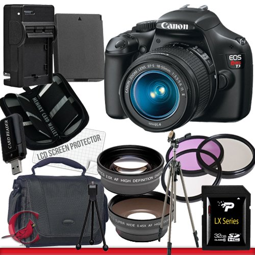 Canon EOS Rebel T3 Digital Camera and 18-55mm IS II Lens Package 6