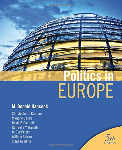 Politics in Europe, by M Donald Hancock