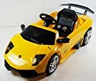 Original Battery Operated Ride on Lambo Murcielago Kl7001 Power Kids Ride on Toy 2.4 Ghz Remote Control Battery 6v-7ah Licensed Car for Kids with Key and Lights Mp3 Input