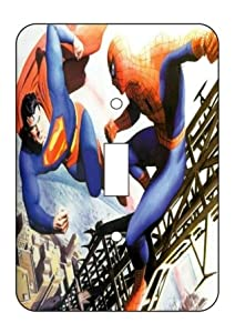 Superman vs Batman Light Switch Plate Cover!! Brand New