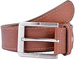 Western Lifestyles Men's Belt (WBL014, Brown, Medium)