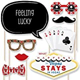 Las Vegas - Casino Photo Booth Props Kit - 20 Count