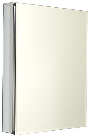 Zenith MRA2430, Beveled Mirror Medicine Cabinet, 24-Inch, Frameless