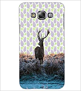 PrintDhaba Deer D-3428 Back Case Cover for SAMSUNG GALAXY GRAND 3 (Multi-Coloured)