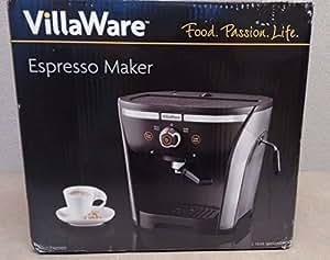 VillaWare 15 Bar Pressure Pump Espresso Maker