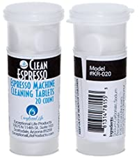 Espresso Machine Cleaning Tablets (20 Pack) - Model KR-020 - For Krups Espresso Machines.