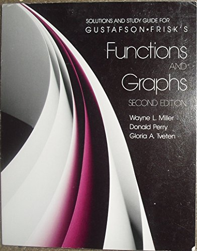Functions and Graphs: Students' Guide