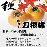 【秋の味覚をお届け】紀州 和歌山 種なし 刀根柿 大玉 2L寸 64玉