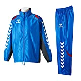 hummel(ヒュンメル)ウィンドブレーカーシャツ+パンツ ブルー L