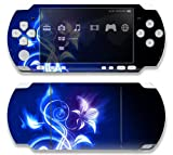 Sony PSP Slim 3000 Decal Skin - Electric Flower